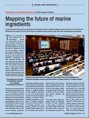 Mapping the future of marine ingredients